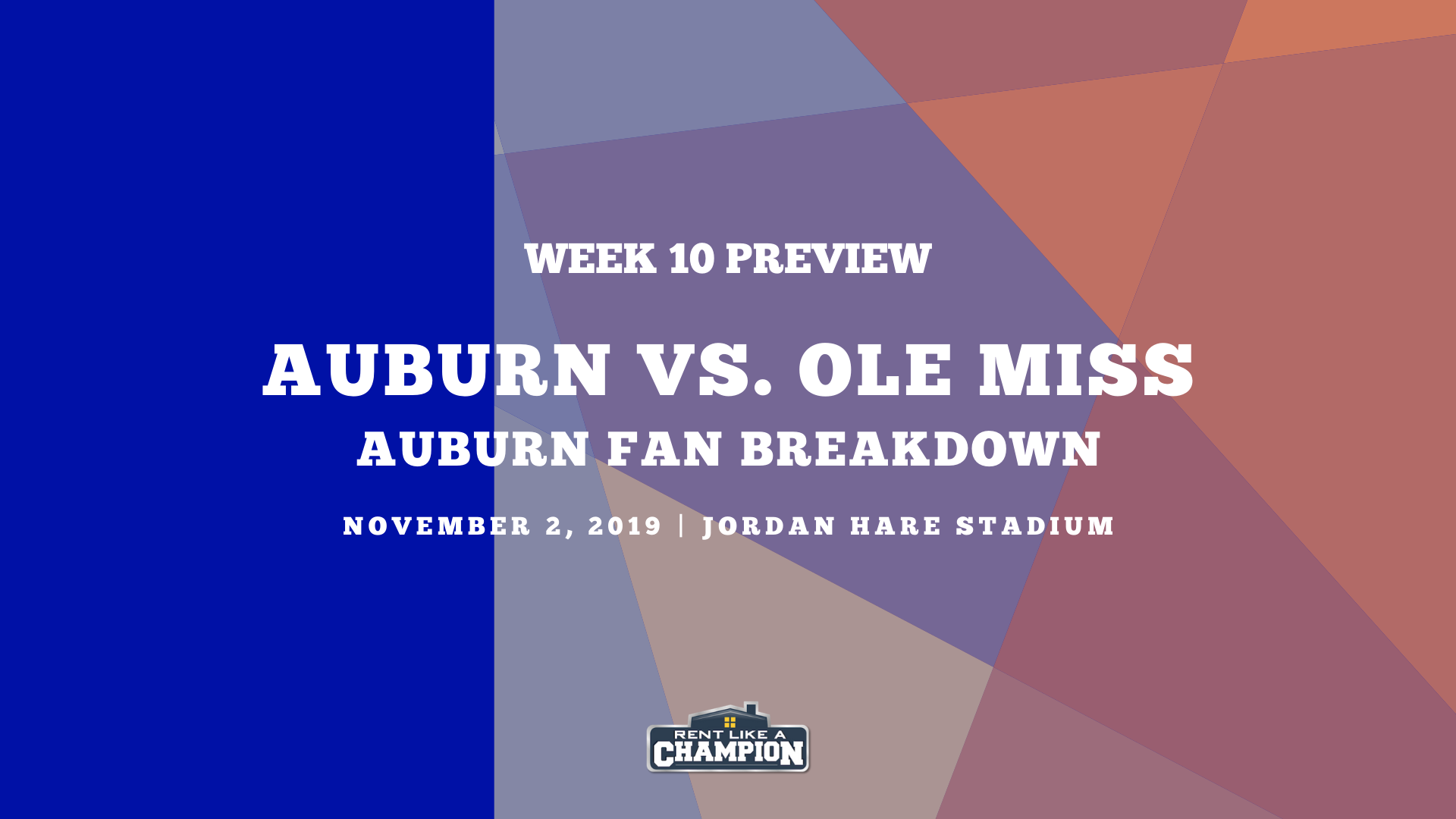 Auburn Game Preview Template for Ole Miss