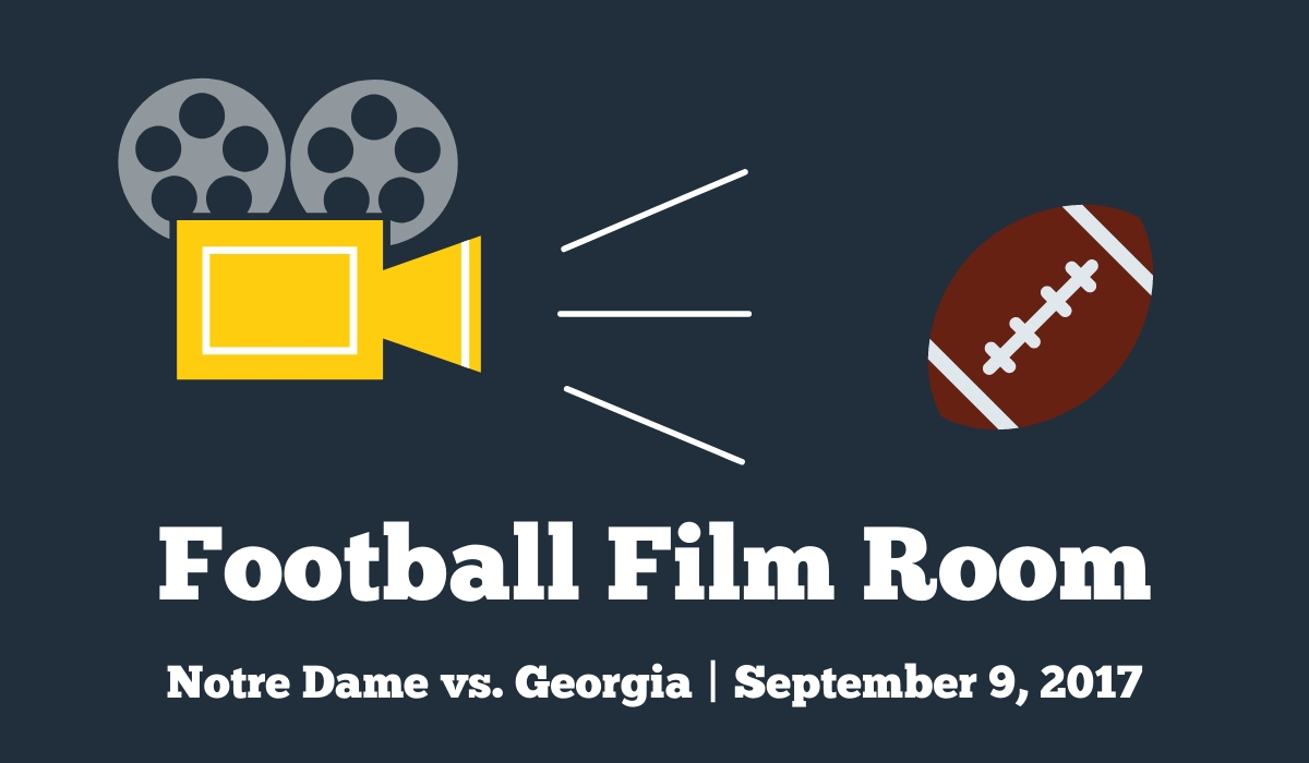 Introducing Football Film Room: Looking back at Notre Dame vs. Georgia