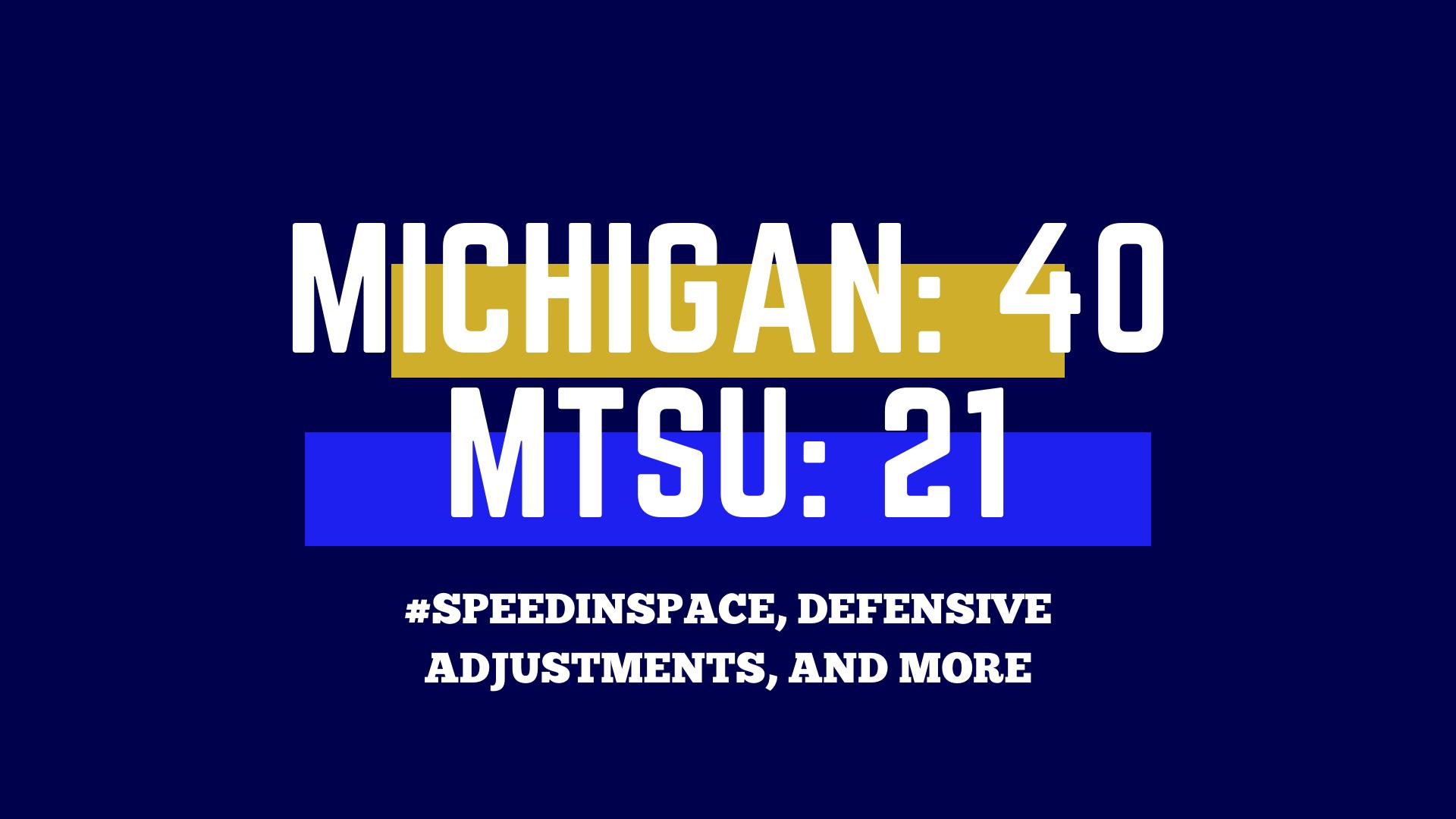 Michigan Recap Template