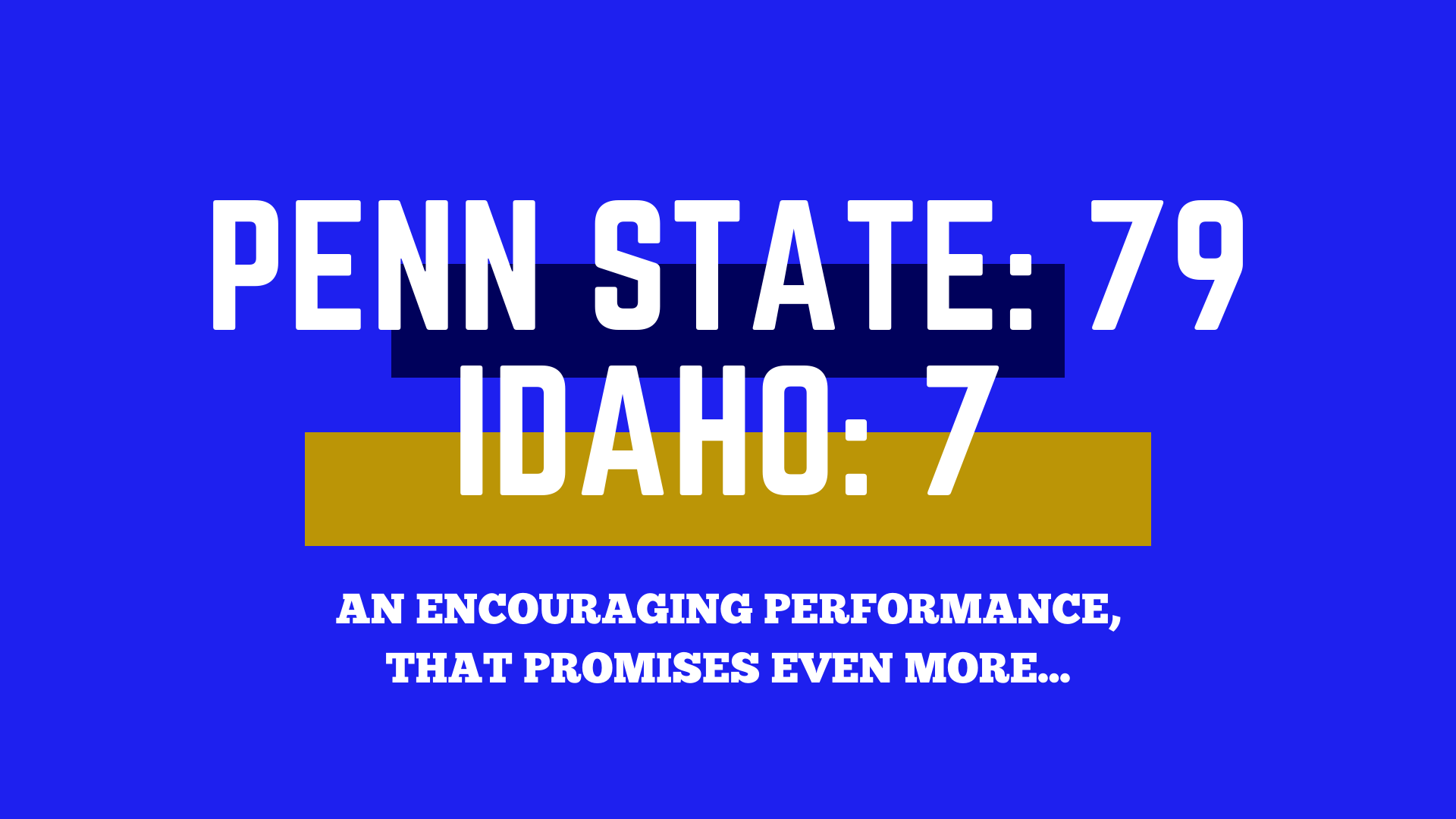Penn State Recap Template-1